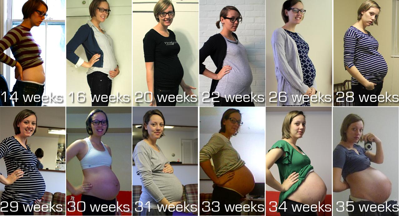 8 months pregnant becky - 4 5