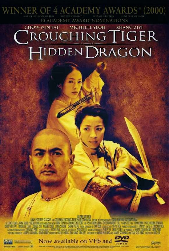 Poster Of Crouching Tiger Hidden Dragon (2000) Full Movie Hindi Dubbed Free Download Watch Online At Alldownloads4u.Com