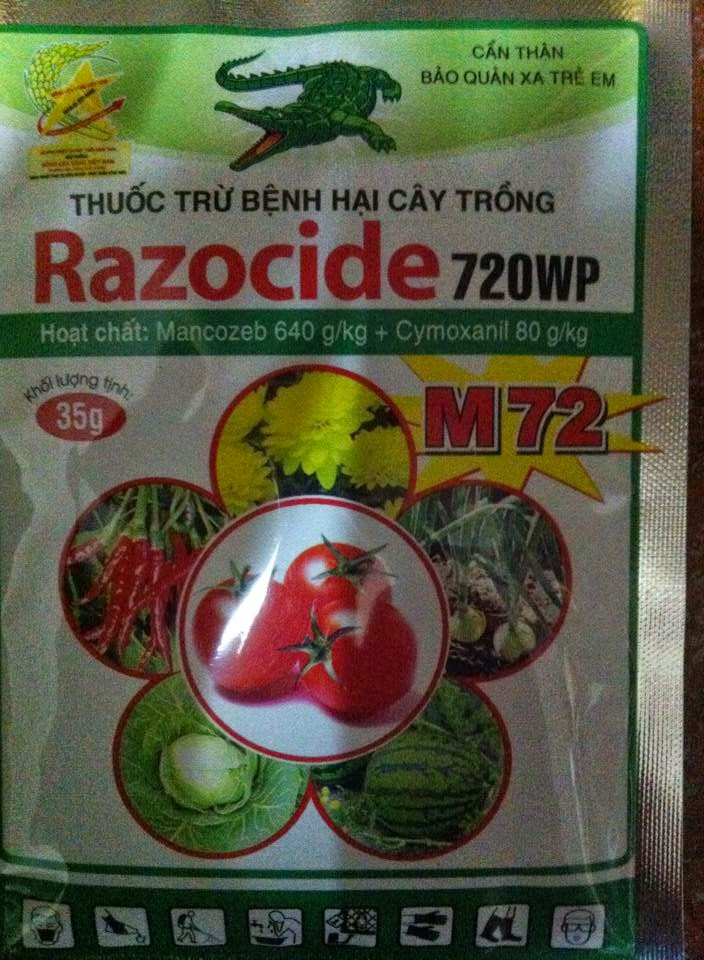Thuốc chống thối nõn hoa