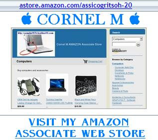 Cornel M Amazon Associate webstore