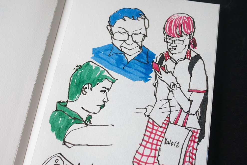 Grandluxe Basics Sketchbook