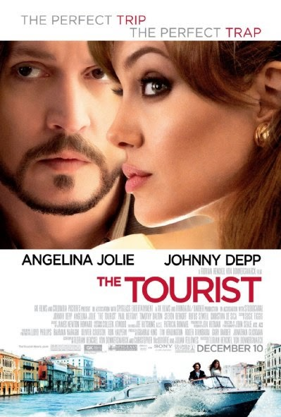 Poster Of The Tourist (2010) Full Movie Hindi Dubbed Free Download Watch Online At alldownloads4u.com