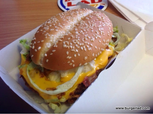 McDonald's Texas BBQ Burger