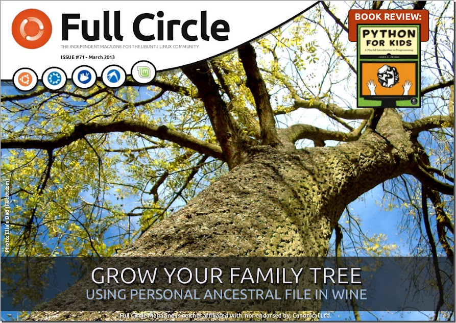 Full Circle Magazine Issue 71