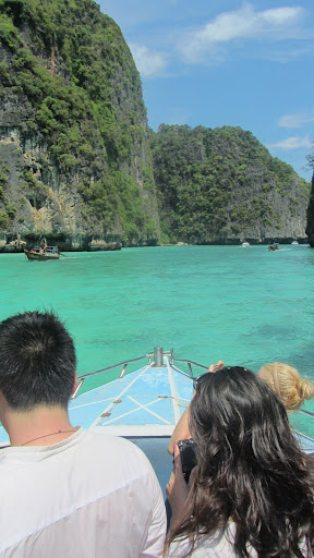 The Beach of Maya Bay Koh Phi Phi Don and Pho Phi Phi Le