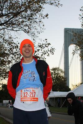 Before Start of New York City Marathon
