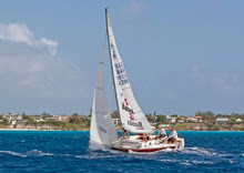 J/24 sailing off Barbados