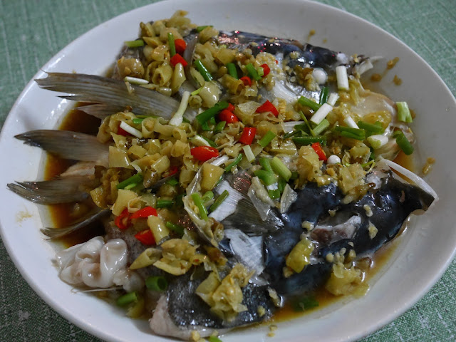 spicy fish head dish