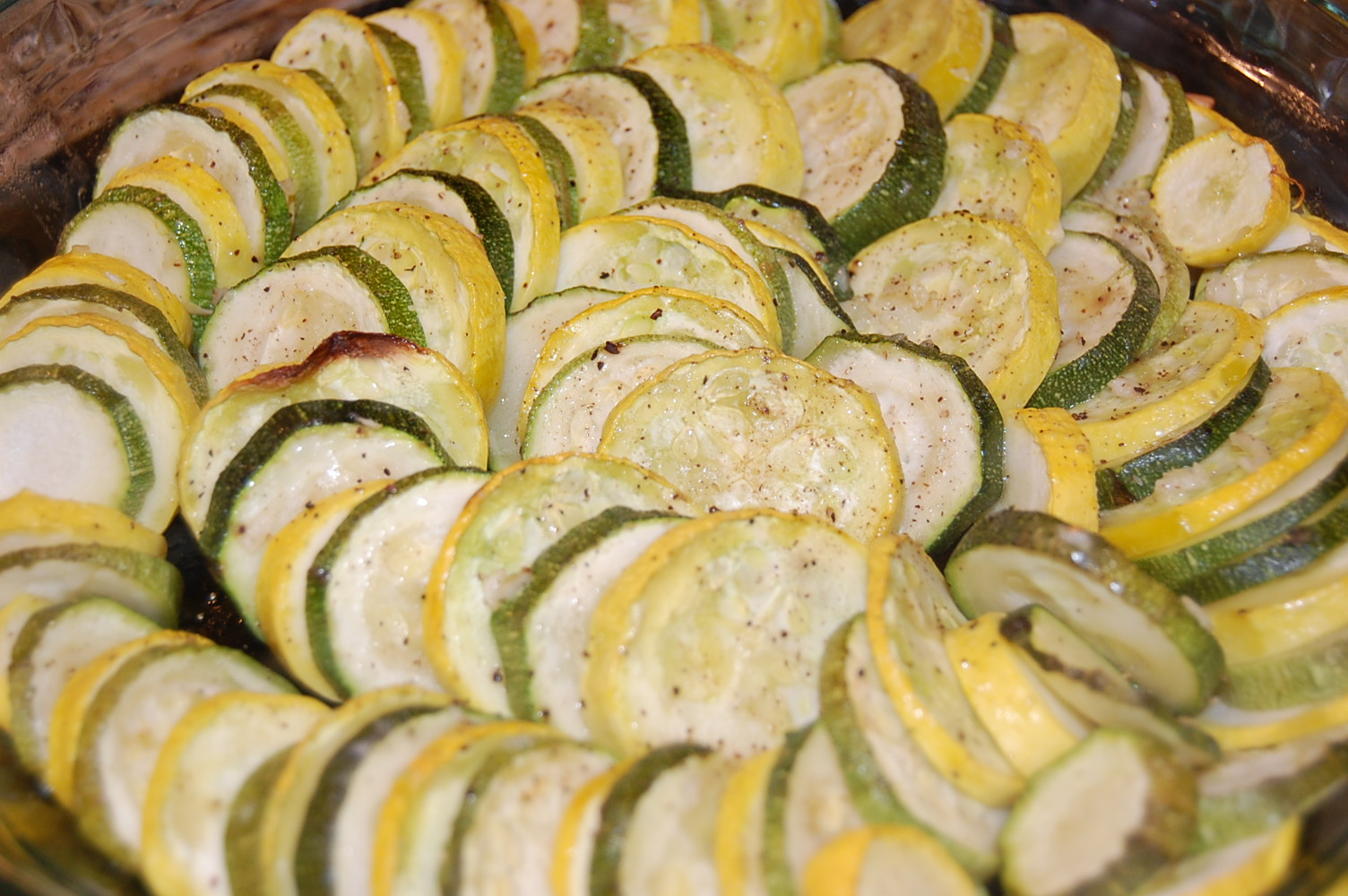 Scratch.Love: Roasted Zucchini and Yellow Squash