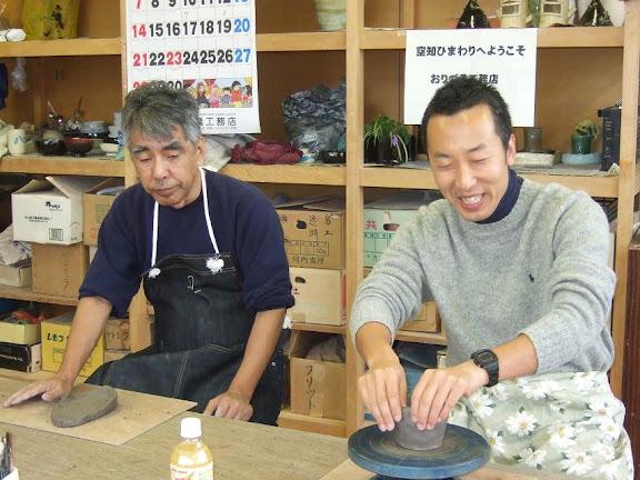信治さんと前田隆行氏
