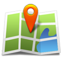 marker on a web map