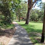 Path leading through Nielsen Park (254924)