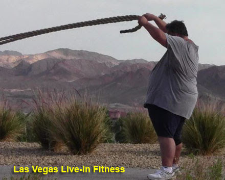 Morbidly Obese 500Lb Man at Las Vegas Live-in Fitness 6-Week Highlights