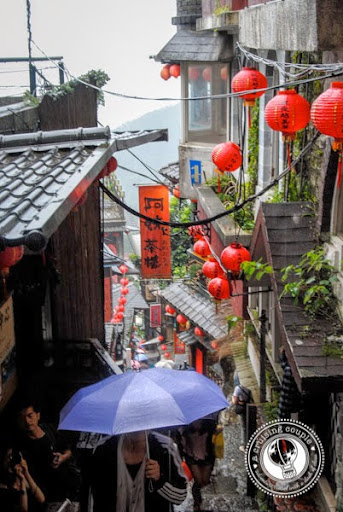 Taiwan Road Trip! Jiufen Old Town on a rainy day