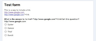 How to create a clickable link in a Google form - Google Product ...