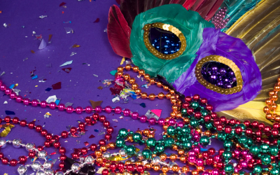 DIY Mardi Gras Cocktail Party Ideas