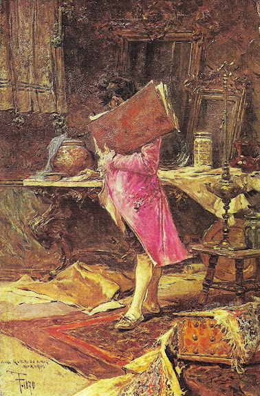 Mariano Fortuny - A man with a book
