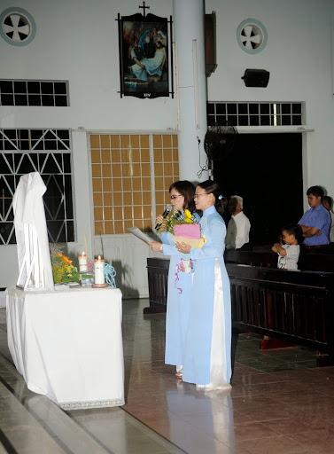 Hình ảnh thánh lễ bổn mạng các Bà Mẹ Công Giáo tại Giáo xứ Cầu Bảo