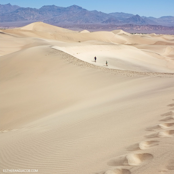 Mesquite Flats Death Valley National Park {25 Must See National Parks in America}