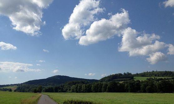 Im Döllbachtal auf der hessisch-bayrischen Grenze bei Uttrichshausen