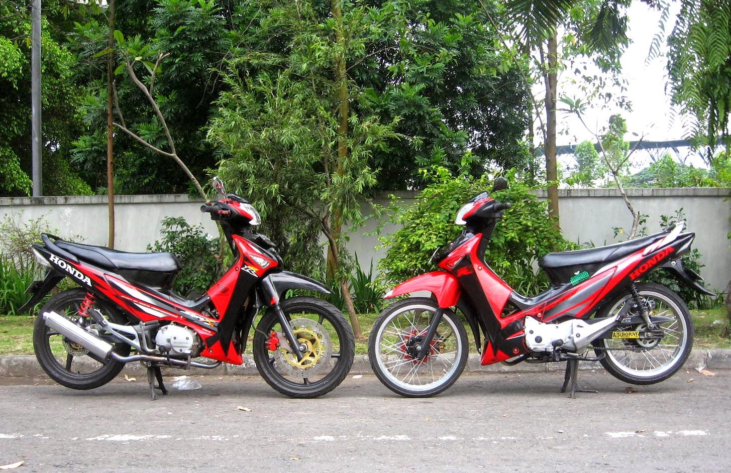 Modifikasi Extriem Motor Honda Supra X 125 6