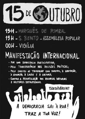 Cartaz 15 de Outubro