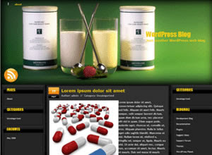 Medicine 2 free wordpress theme