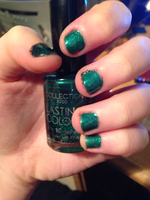 Collection Green Nail Polish