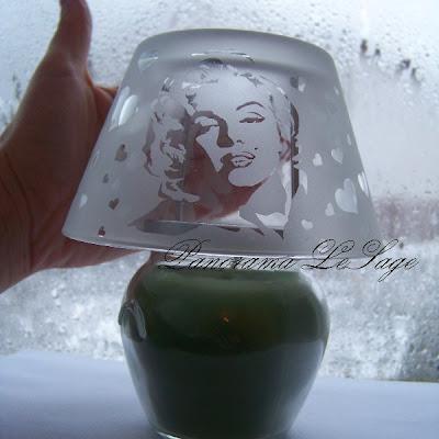 szkło piaskowane Marzena Ostrowska Arctia studio Arctia grawerowane szkło artystyczne
