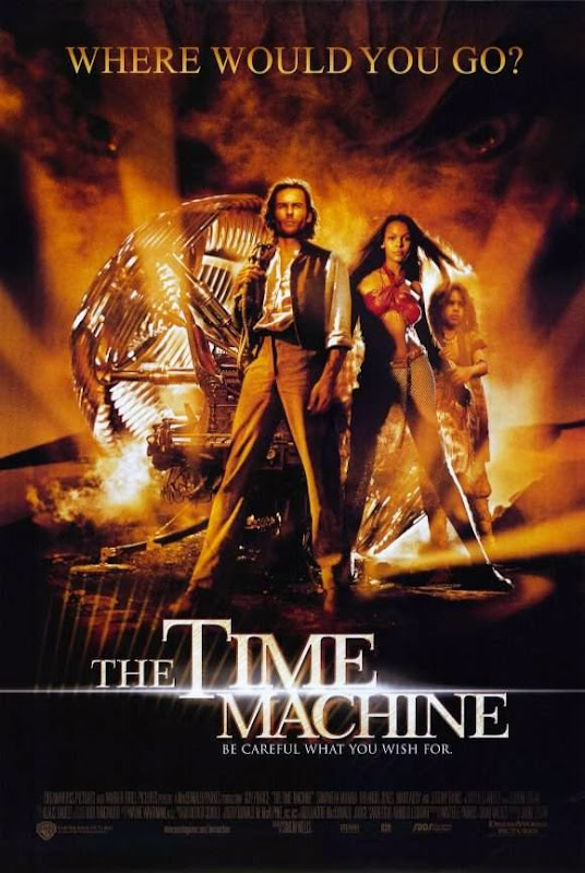 Poster Of The Time Machine (2002) Full Movie Hindi Dubbed Free Download Watch Online At Alldownloads4u.Com