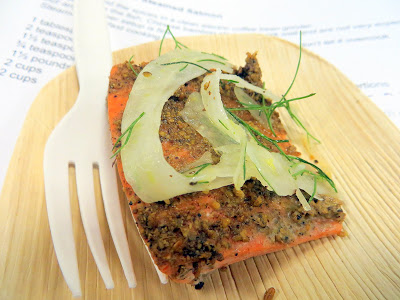 Culinary Council Recap: Tom Douglas, Culinary Council member at the Macy's at Washington Square Dec 14, 2013, shared a Fennel Rubbed Steamed Salmon recipe