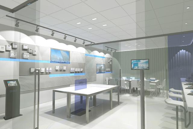 Inshop interiores comerciales showroom y oficinas chin for Oficina correos mostoles