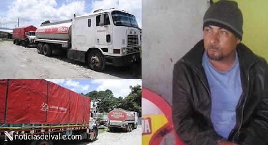 Detenido con combustible de contrabando San Pedro Sacatepequez
