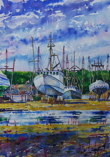 Boatyard. Artist of the Month: Paul McMahan