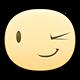 Wink Facebook sticker