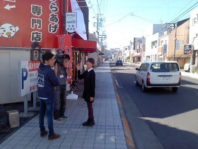 2015年11月4日SBSテレビ「イブアイしずおか(16:45から17:50)」の11月4日の放送に「からあげ大ちゃん」が出ました!!