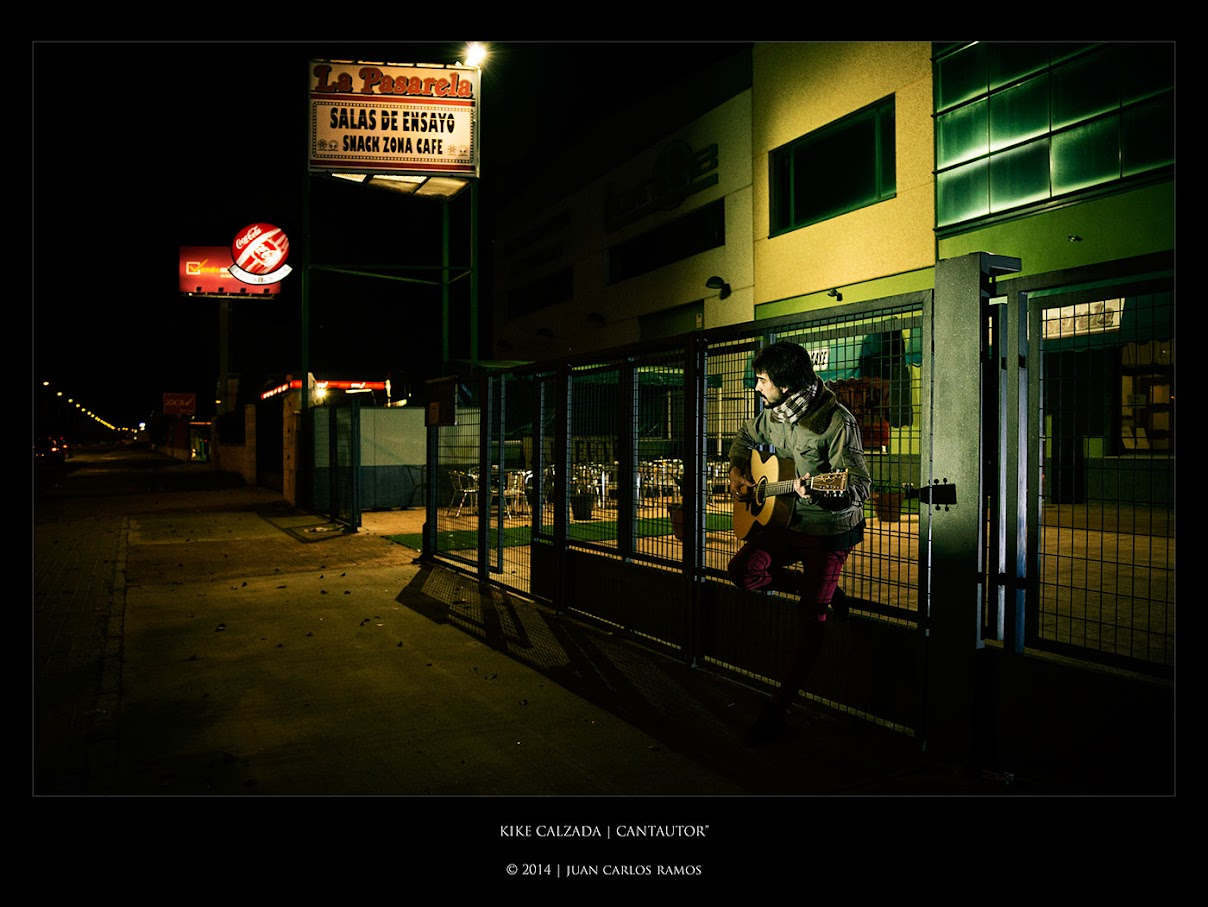 KIKE CALZADA | CANTAUTOR por JUAN CARLOS RAMOS