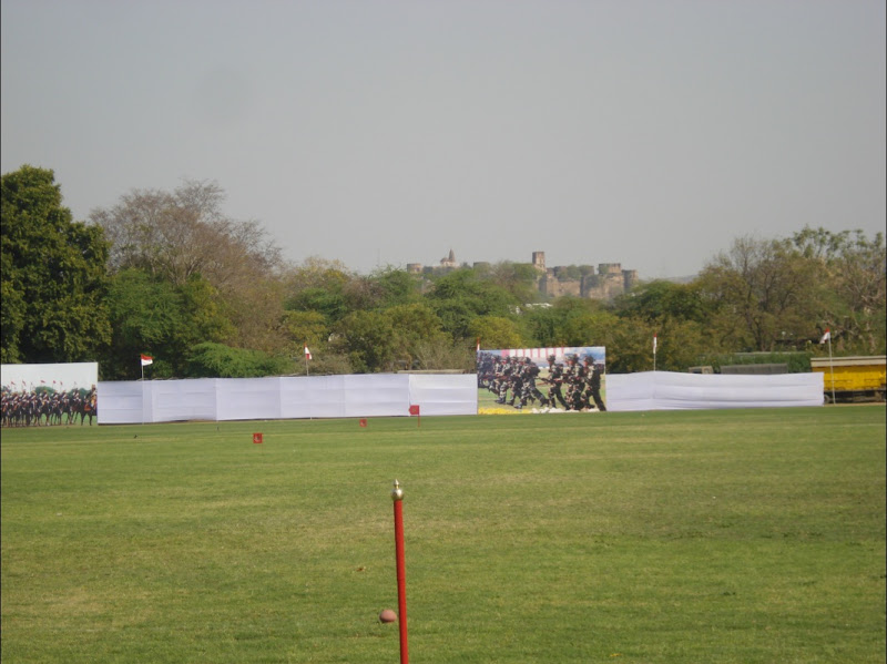 61st Cavalry's Mounted Review at Jaipur