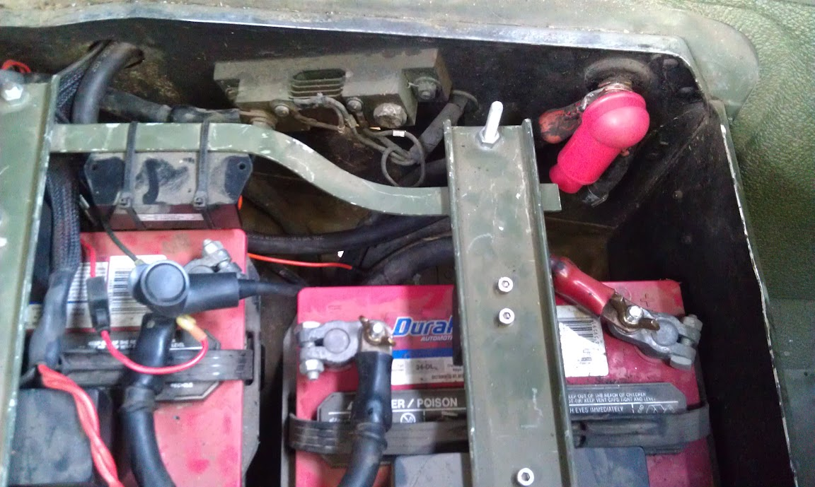 Converting A Hmmwv To 12 24v G503 Military Vehicle Message Forums Willys Volt Generator Wiring Diagram Image