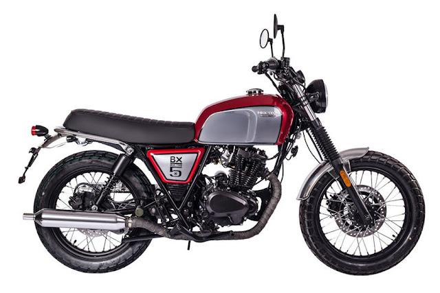 Brixton BX 150 Classic Đỏ