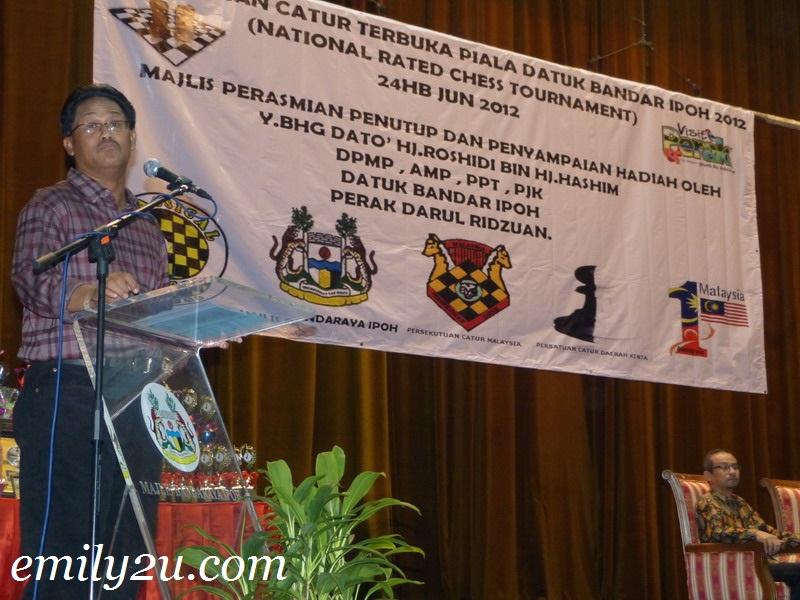 Kejohanan Catur Terbuka Piala Datuk Bandar Ipoh 2012
