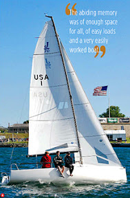 J/70 one-design speedster- world one-design sailboat