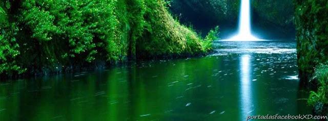 Portadas Para Facebook Xd Imagen De La Naturaleza Un Rio En La Selva