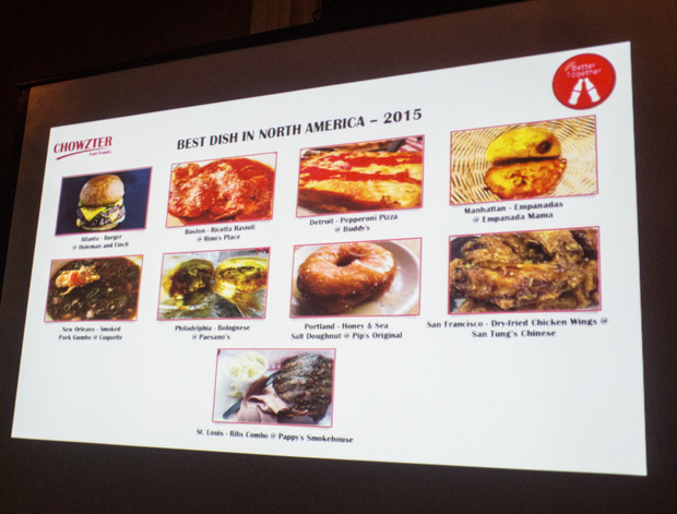 Chowzter's North America Fast Feasts Awards