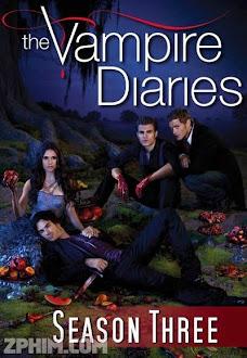 Nhật Ký Ma Cà Rồng 3 - The Vampire Diaries Season 3 (2011) Poster
