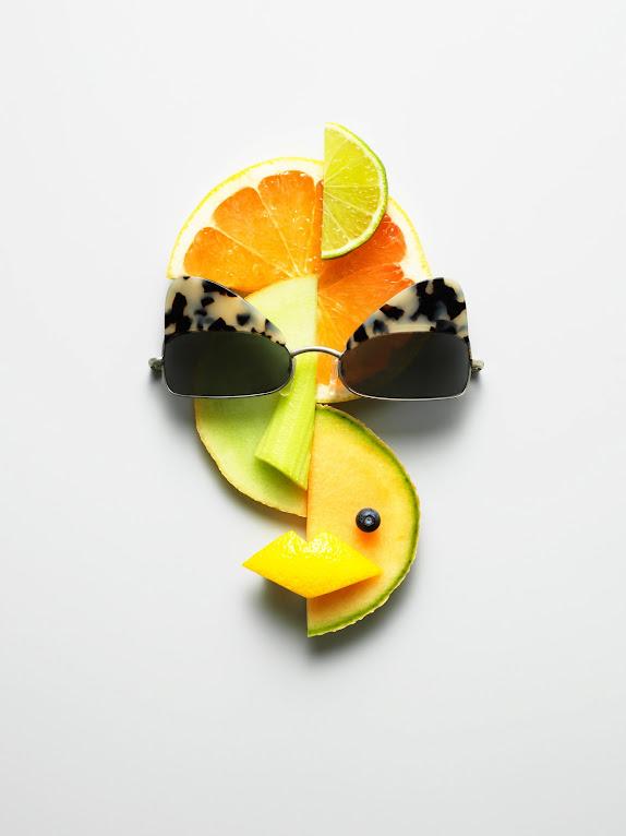 *果臉眼鏡展示架:瑞典藝術家 Philip Karlberg 抽象視覺成列 ! 2