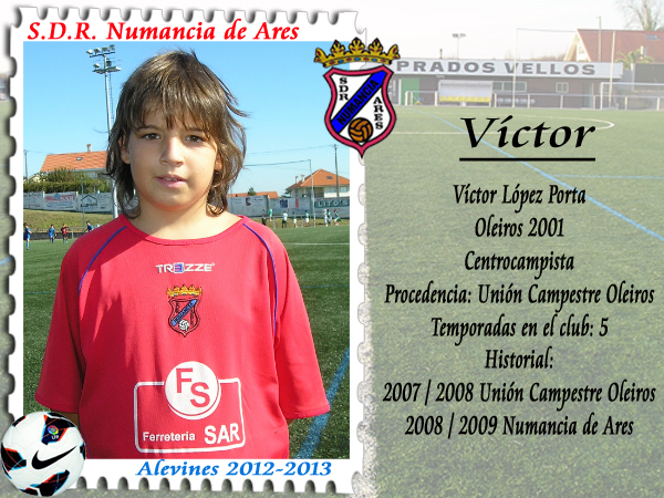 ADR Numancia de Ares. Víctor.