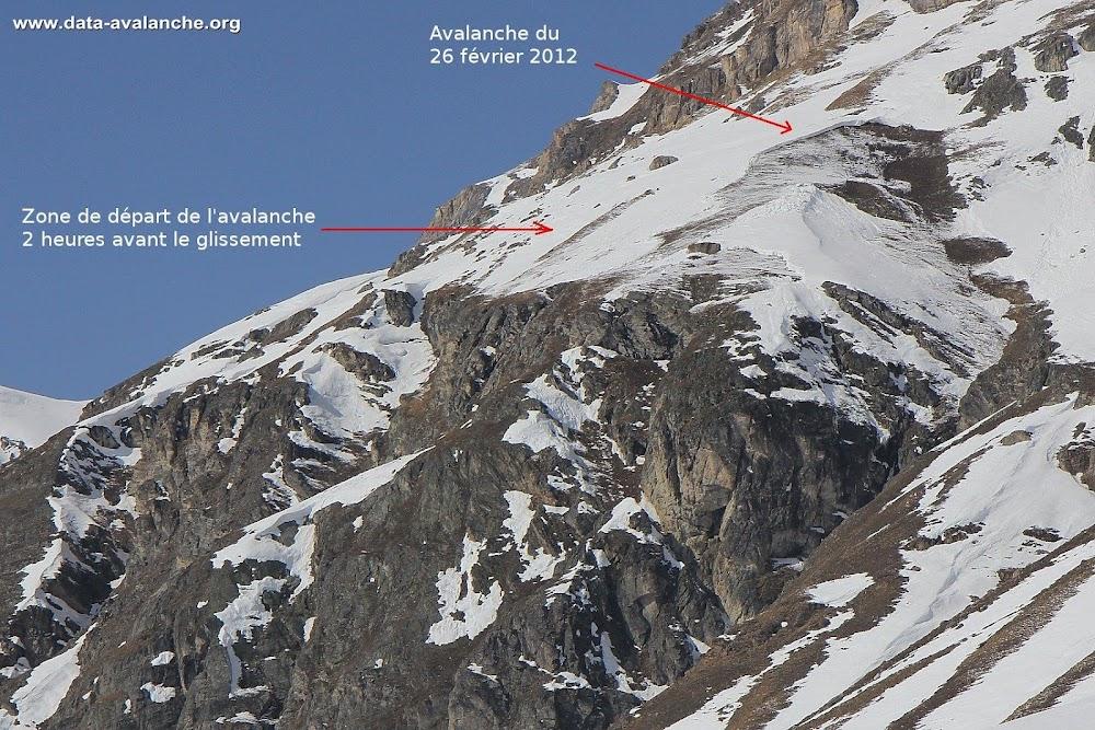Avalanche Haute Tarentaise, secteur Pointe de la Bailletta, Val d'Isère ; Le Fornet ; Le Museau - Photo 1 - © Moreau Michel
