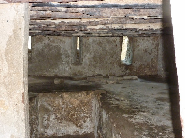 slave chambers at the slave market. From Through the eyes of an educator: Zanzibar, Tanzania