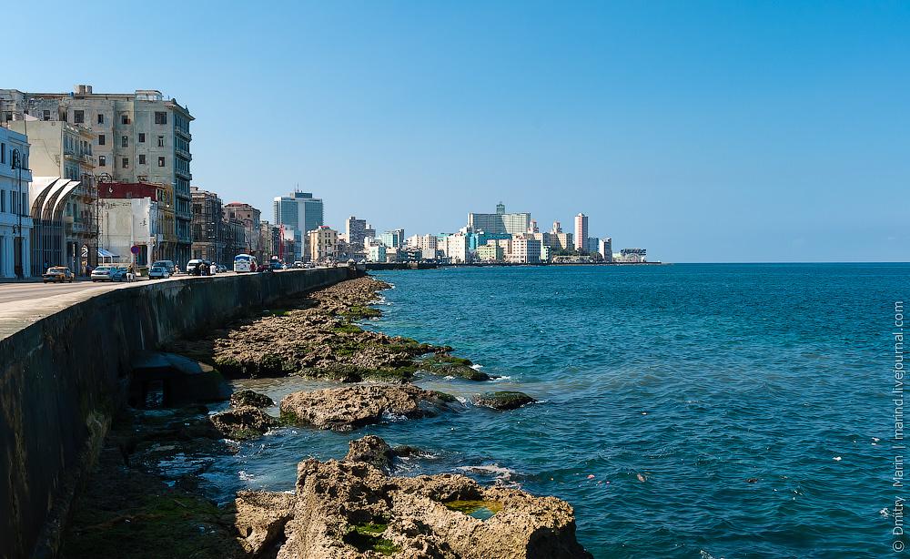 Cuba. Havana. Malecon. Dmitry Marin